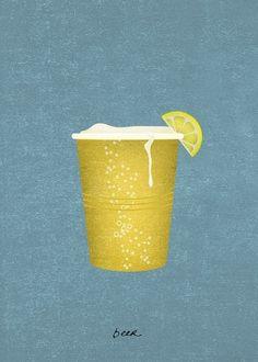 Illustration / beer | Flickr - Photo Sharing! — Designspiration