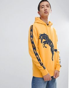 Originals In Bs4669 Closet Tnt Yellow Tape Hoodie Adicolor Adidas 64q1dU6