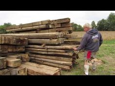 reclaimed barn wood , wide plank flooring, barn siding and beams - YouTube