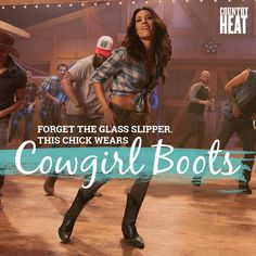 Are you ready for this line dancing workout? Country Fit!