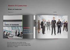 Annual Report Template G1 U2013 A4 Landscape  Annual Reports Templates