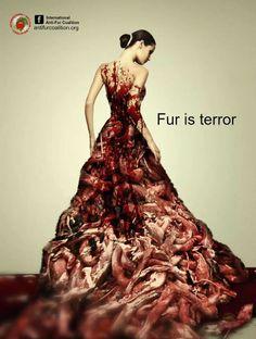Fur is terror.
