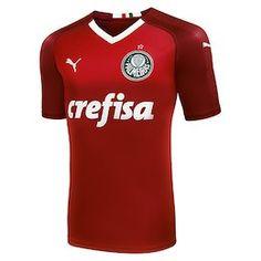 aeeb63a66d349 Camisa de Goleiro Palmeiras III 19 20 s n° - Torcedor Puma Masculina - Vinho