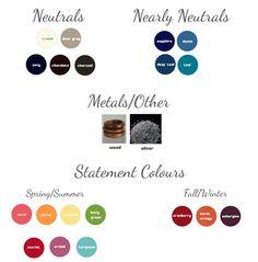 Pour réussir une capsule, il est bon de définir une palette de couleurs déjà...