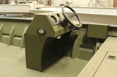Tracker 1998 Grizzly Green Aluminum Jon Boat Console Kit