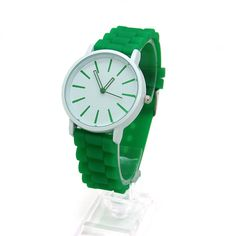 New arrival Casual Geneva Quartz watch 14 colors Ladies wristwatches Classic Geneva Silicone Jelly watches for women and men