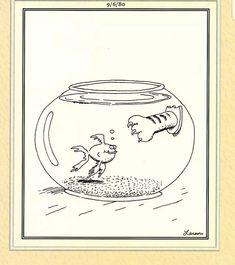 The Far Side by Gary Larson Far Side Cartoons, Far Side Comics, Haha Funny, Funny Memes, Funny Stuff, Funny Shit, Funny Things, Funny Sarcasm, Gary Larson Comics