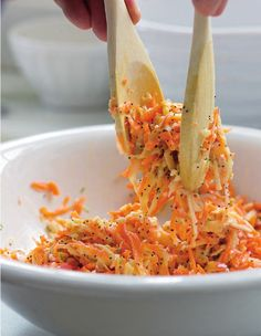 Apple and Carrot Salad from P. Allen Smith's Seasonal Recipes from the Garden