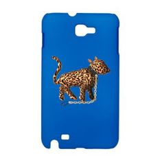 Chained Leopard lg Galaxy In sleek, rubberized plastic, this is an Android case that protects your Samsung Galaxy Note in style. Durable, tough and on guard round the clock, it's an Android case your Galaxy Note really can't live without. Rubberized, impact resistant plastic