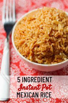 Seasoned Brown Rice Recipe, Seasoned Rice Recipes, Brown Rice Recipes, Rice Recipes For Dinner, Instant Pot Dinner Recipes, Yummy Rice Recipes, Freezer Recipes, Freezer Cooking, Ww Recipes