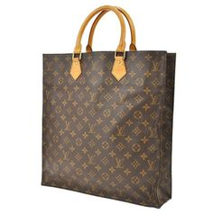 Louis Vuitton Sac Plat Monogram Satchel Handbag Tote Bag. Get one of the hottest styles of the season! The Louis Vuitton Sac Plat Monogram Satchel Handbag Tote Bag is a top 10 member favorite on Tradesy. Save on yours before they're sold out!