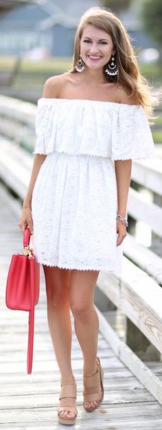 a62a01d407a3 40+ Outfits You Must Try. Pretty Summer DressesWhite ...
