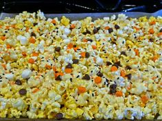 Monster Mix Halloween Party Popcorn