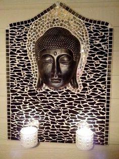 Mozaiek Boeddha