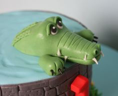 Krokodil fondant