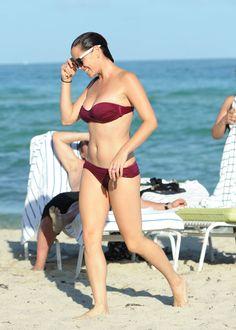 Jessica Sutta in Bikini on Miami Beach Jessica Sutta, Miami Beach, Bikinis, Swimwear, Calves, Fashion, Bathing Suits, Moda, Swimsuits