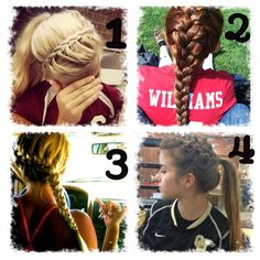 I have a softball game tomorrow and I want to know what hairstyle to put it in. I am a catcher to. What hairstyle should I put it in? Comment below please!!!!:)