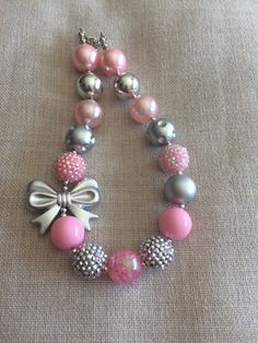 A personal favorite from my Etsy shop https://www.etsy.com/listing/483852965/valentines-bubblegum-necklace-chunky