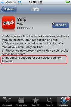 Yelp is poking a little fun at the Romney campaign.