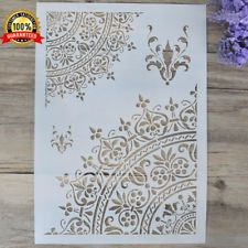 , DIY Craft Layering Stencils For Walls Painting Scrapbooking Stamping Album Decorative Embossing Paper Card Flower Template. , DIY Craft Layering Stencils For Walls Painting Scrapbooking Stamping Album Decor. Stencils Mandala, Mandala Art, Mandala Painting, Mandala Pattern, Basic Painting, Stencil Painting, Stencil Diy, Stenciling, House Painting