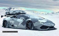 Lamborghini Huracan Snow Patrol 600x366