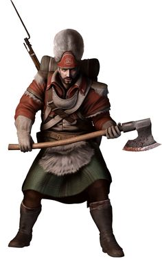 Assassin's Creed III Art & Pictures  British Brute
