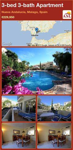 3-bed 3-bath Apartment in Nueva Andalucia, Malaga, Spain ►€229,950 #PropertyForSaleInSpain