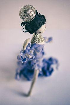 Couture art-doll Geisha heigh 160 mm от InspiredMaker на Etsy