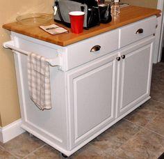 rolling kitchen island lumberjocks diy custom build reality daydream