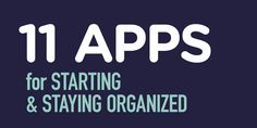 This handy list will keep you organized all year long: http://edut.to/1JztTvc . #edapps #apps