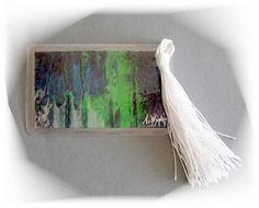 Acrylmalerei - Lesezeichen 9 handgemalt Kunstgalerie Winkler Neu - ein Designerstück von Kunstgalerie-Winkler bei DaWanda