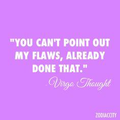 already done that #virgo