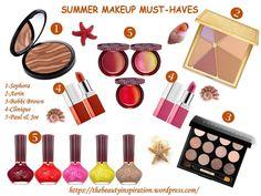Summer 2015: top 5 of the week makeup must-haves