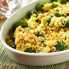 Smoky Gouda-Sauced Broccoli - these veggie casseroles are packed with flavor!