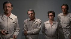Andromeda Strain 1971, important people acting serious