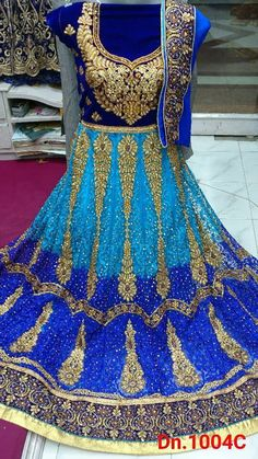 desiner embroidered work indian bollywood style wedding party wear fancy look | eBay