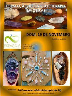 Formação de Cristaloterapia em Oeiras 19 de Novembro