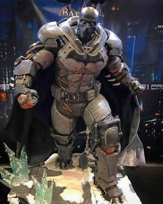 This suit with a different person playing Batman would've been excellent in the movie Batman Armor, Batman Suit, Batman Vs Superman, Batman Arkham, Comic Books Art, Comic Art, Batman Concept, Dc Comics, Univers Dc