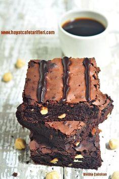 Brownie Recipe - Easy Cafe Recipes for Life Cafe - Cheesecake Recipes Brownie Cheesecake, Best Cheesecake, Brownie Cake, Cheesecake Recipes, Easy Cake Recipes, Brownie Recipes, Cookie Recipes, Dessert Recipes, Desserts
