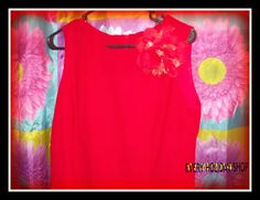 Red Dress, Herman Geist Dress Wool Knee Length Dress, Size 12 P, Made in the USA #HermanGeist #Maxi #Casual