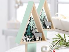 Melinera Wooden Christmas Decorations - at Lidl UK