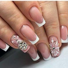 Pin by Carolina Vong on Christmas nails in 2020 Xmas Nails, Neon Nails, Holiday Nails, Christmas Nails, Acrylic Nails Coffin Ballerinas, White Acrylic Nails, Rose Gold Nails, Purple Nails, Yellow Nails
