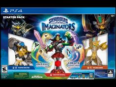 Skylanders Imaginators Starter Packs + New Skylanders Battlecast Cards
