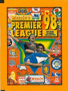 Merlin Premier League Football Sticker Album 1998