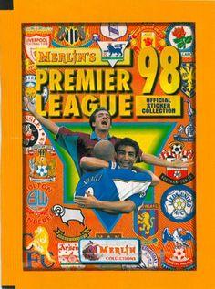 Merlin Premier League Football Sticker Album 1998