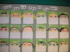 """Writing activity to go with the book """"Hey, Little Ant"""""""