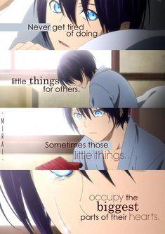 The Inspirational side of anime Noragami Anime, Noragami Bishamon, Me Anime, Anime Life, I Love Anime, Manga Anime, Sad Anime Quotes, Manga Quotes, Fanart Manga