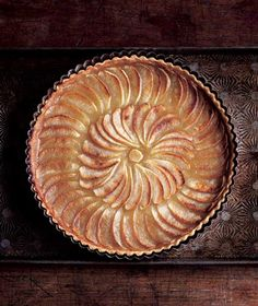 Apple Tart Recipe (Don't let the photo fool you. The true beauty of this stunner of an apple tart recipe is its delicate taste, which is pure apple.)