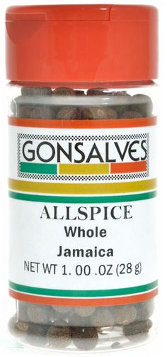 Gonsalves Allspice Whole Jamaica 1 oz.  Allspice Key ingredient in traditional Portuguese Alcatra ( Portuguese pot roast) a savory spice that also can be used in a variety of meat dishes and stews.