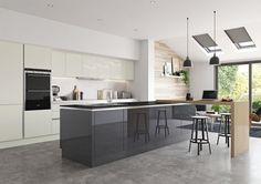 Bespoke Zara Handleless Gloss Kitchen